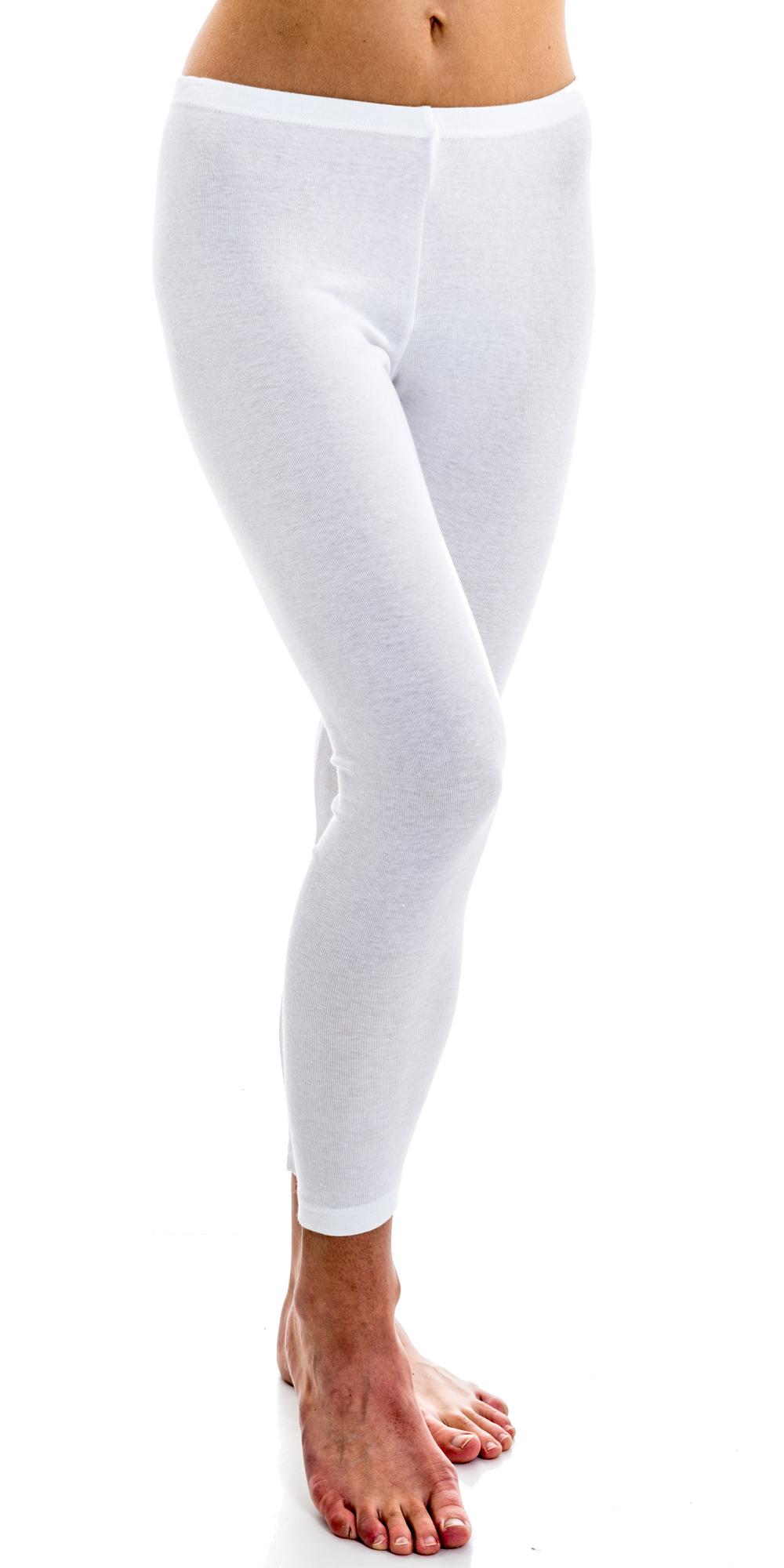 9de4740de91c31 HERMKO 5720 Damen Leggings aus Baumwolle / Elastan