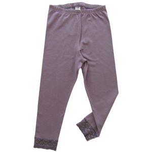 HERMKO 5722 Damen Capri- 3/4 - Leggings mit Spitze – Bild 12