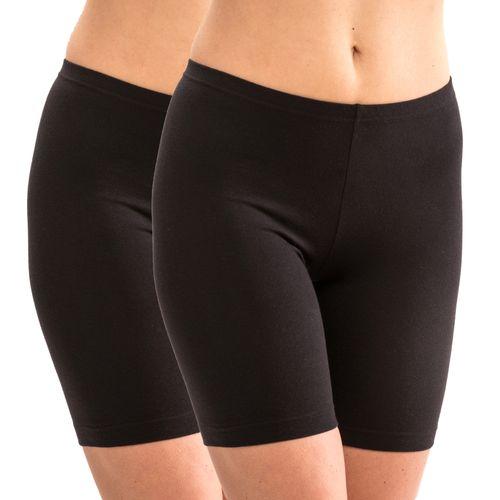 HERMKO 5780 2 pack of women's long underwear – knee length longjohns