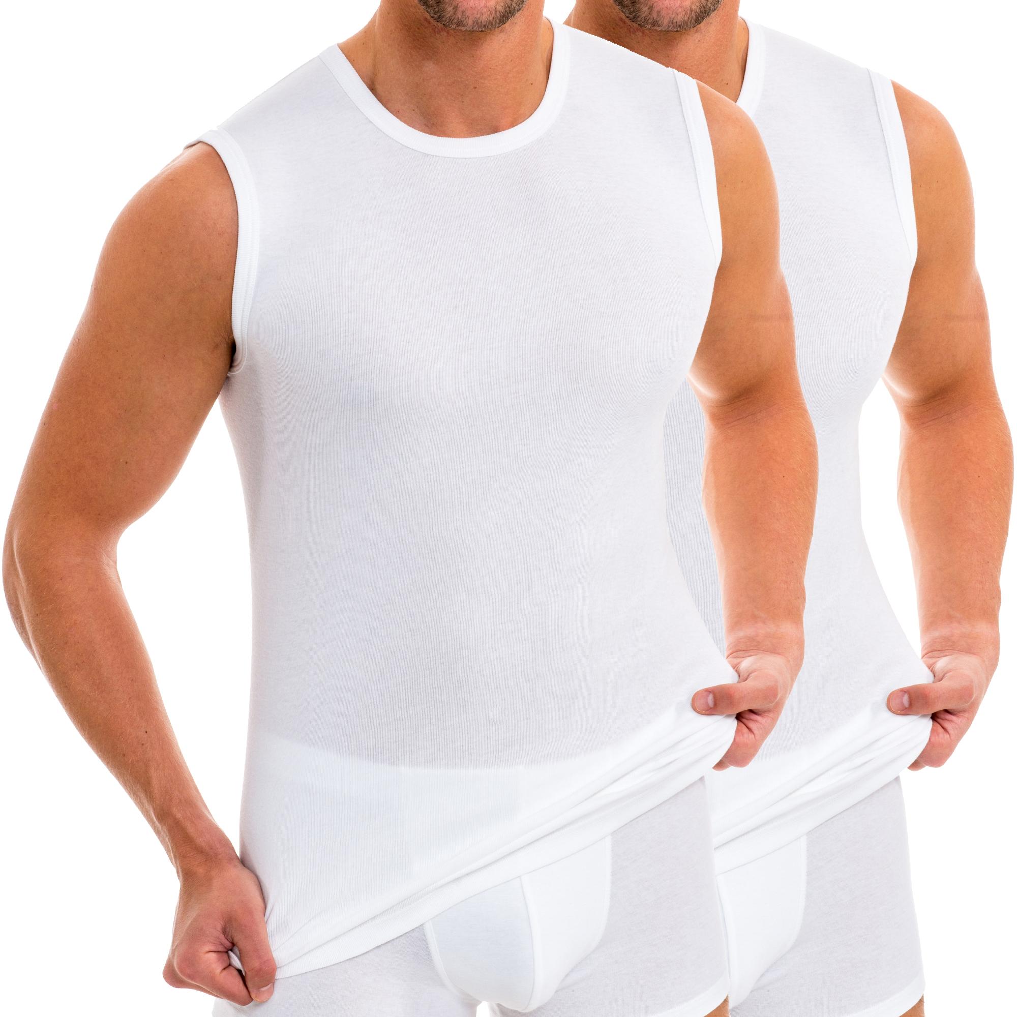 HERMKO 62040 2er Pack Kinder Funktionsunterhemd Muskelshirt