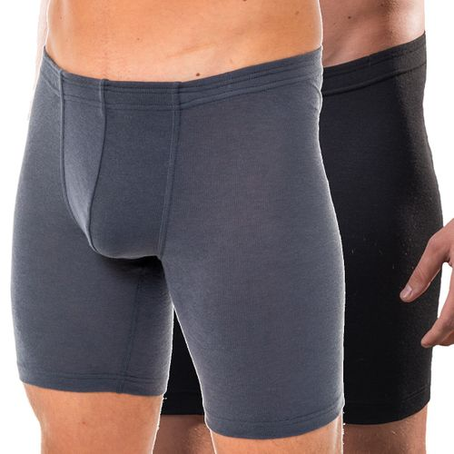 HERMKO 63955 Men's functional long trunks without opening with elasticated waistband