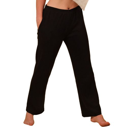 HERMKO 984 Ladies' home-wear Trousers – for relaxing at home, sports, gymnastics, 100% bio-cotton