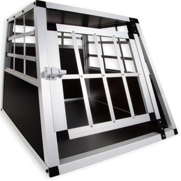 LovPet® Hundebox Transportbox Alubox Hundetransportbox Reisebox Alu Haustiere – Bild 2