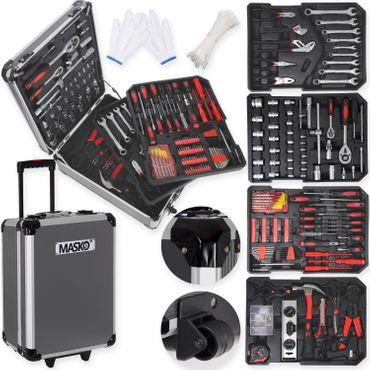 Masko® 949 Werkzeugkoffer Werkzeugkasten Werkzeugkiste Werkzeug Trolley ✔ Profi ✔ 949 Teile ✔ Qualitätswerkzeug  – Bild 16