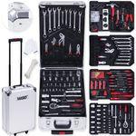 Masko® 969 tlg Werkzeugkoffer Werkzeugkasten Werkzeugkiste Werkzeug Trolley ✔ Profi ✔ 949 Teile ✔ Qualitätswerkzeug