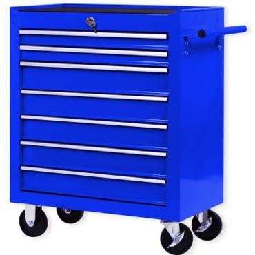 Masko® Werkstattwagen Rollwagen Werkzeugwagen Werkzeugkiste Fächer Toolbox Werkzeug box – Bild 13