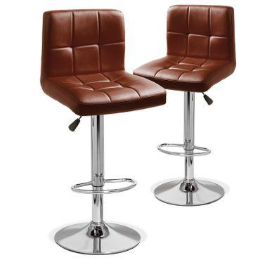 Kesser® 2er Set Barhocker Barstuhl Tresenhocker Küchenhocker Loungesessel Esszimmerstuhl – Bild 2