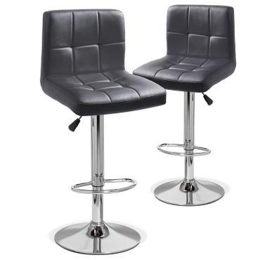 Kesser® 2er Set Barhocker Barstuhl Tresenhocker Küchenhocker Loungesessel Esszimmerstuhl – Bild 4