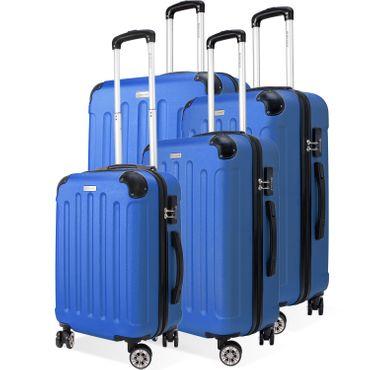 KESSER® 4er Reisekoffer Set Trolley Hartschale Hartschalenkoffer Koffer S-M-L-XL – Bild 21