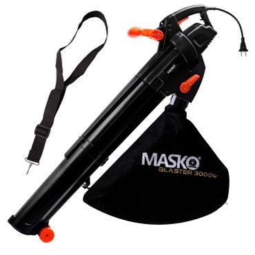 MASKO® Elektro Laubsauger Elektrischer 3in1 Laubbläser Laubhäcksler 3000W 45L – Bild 18