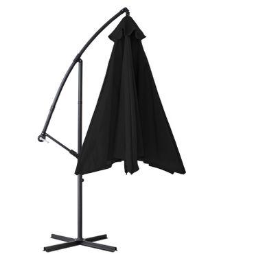 KESSER® Alu Sonnenschirm Ø300cm Ampelschirm + Handkurbel Schirm Gartenschirm 3m – Bild 23