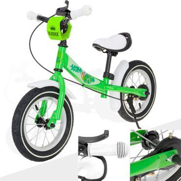 KIDIZ® Laufrad Kinderlaufrad Roller Kinder Fahrrad Lauflernrad Kinderrad 12 Zoll – Bild 2