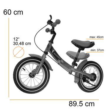 KIDIZ® Laufrad Kinderlaufrad Roller Kinder Fahrrad Lauflernrad Kinderrad 12 Zoll – Bild 8