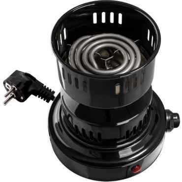 DILAW® TOWER 2.0 Kohleanzünder 3in1 800W Keramik  Elektrischer Shisha Heizplatte Kohle-Brenner  – Bild 4