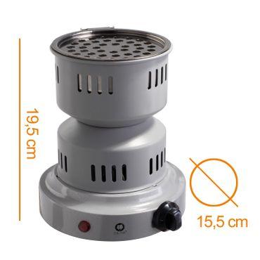 DILAW® TOWER 2.0 Kohleanzünder 3in1 800W Keramik  Elektrischer Shisha Heizplatte Kohle-Brenner  – Bild 11