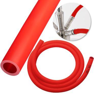 DILAW Shisha Silikonschlauch für Shishas Aluminium , Edelstahl | Schlauch für Wasserpfeife Hookah | Flexibel | 1,50m Lang – Bild 10