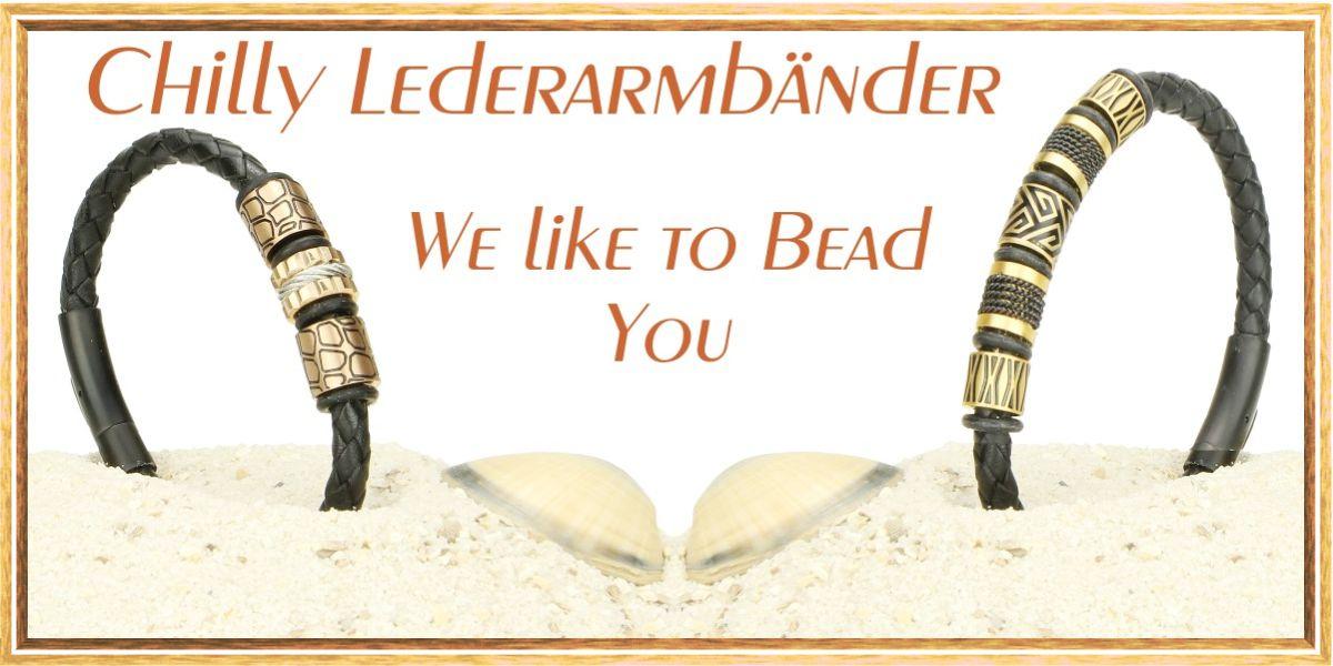 Leder-Armbänder