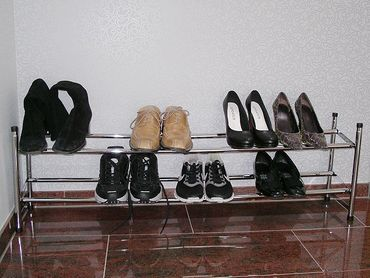 Schuhregal Prim, Paketartikel für eBay, früher Schlüsselbrett
