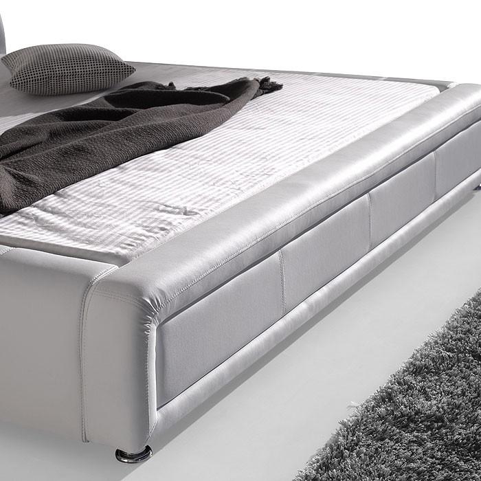 polsterbett komplett aron bett 180x200 schwarz lattenrost matratze wohnbereiche schlafzimmer. Black Bedroom Furniture Sets. Home Design Ideas