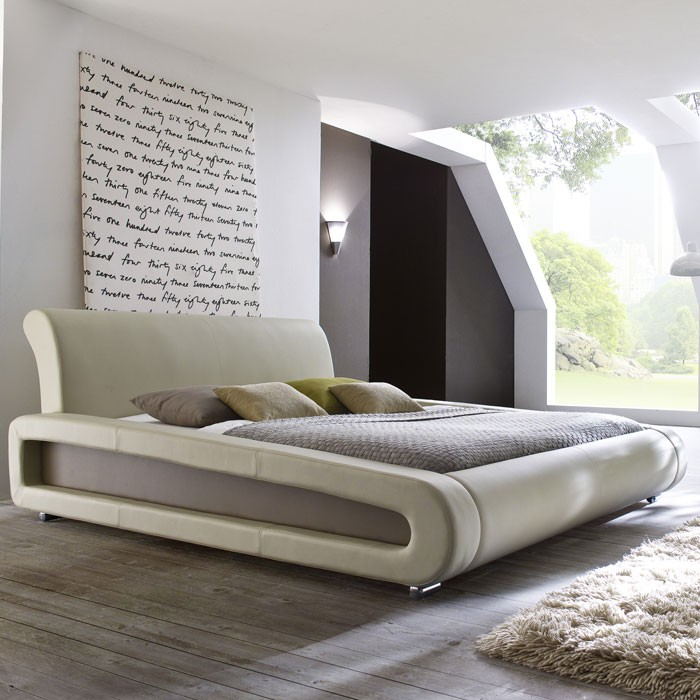 Polsterbett Komplett Blain Bett 160x200 Beige Lattenrost Matratzen