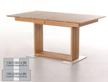 Esstisch Bennet 1XL ausziehbar Holztisch Eckbanktisch Mittelauszug
