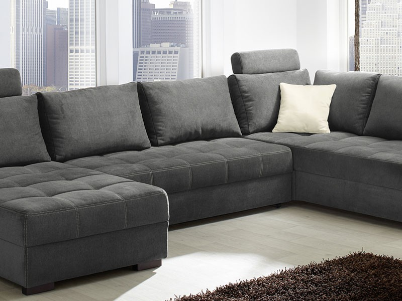 Awesome Antigua Mikrofaser Grau Xxcm Sofa Couch Polsterecke U Bild With Sofas  Grau