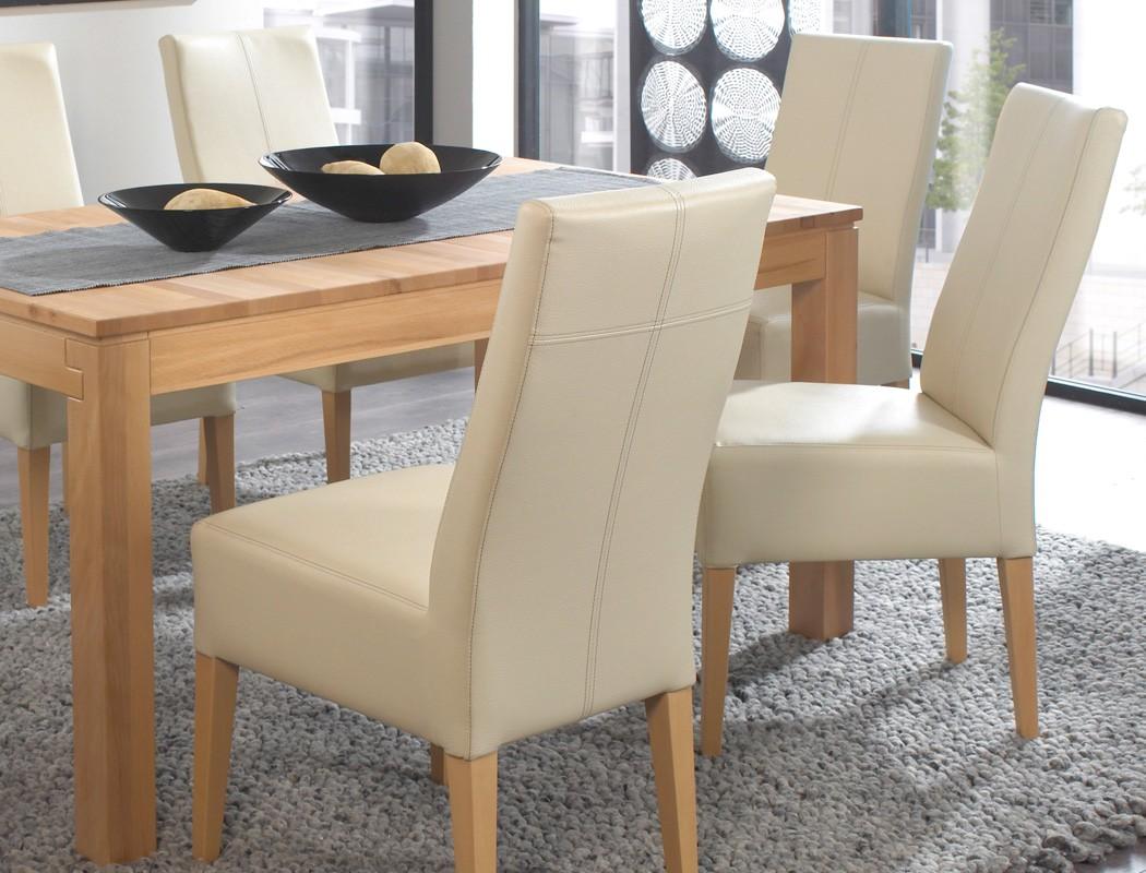 Tischgruppe Kernbuche Tisch Grover XL 130 230 X90 6