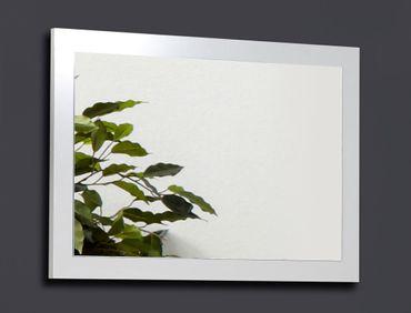 Wandspiegel Ottawa 80x55x2 cm weiß Garderobenspiegel Flurspiegel