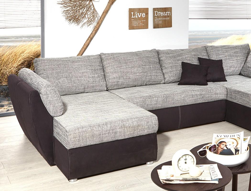 schwarz graue couch simple quadro ii hocker schwarzgrau. Black Bedroom Furniture Sets. Home Design Ideas