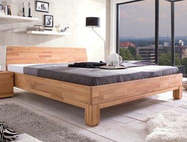 Massivholzbett Rino 180x200 Kernbuche geölt Doppelbett Schlafzimmer