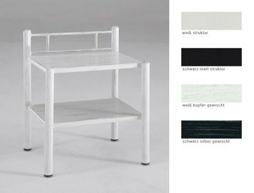 Nachttisch Paxi 45x61x36 cm Metall Farbe nach Wahl Nachtkonsole Nako