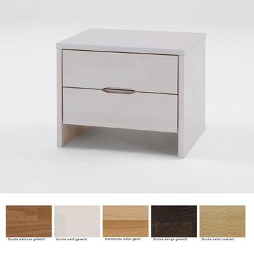 Nachttisch Goms 3 Comfort 48x47x39 Buche Farbe nach Wahl Nachtkonsole