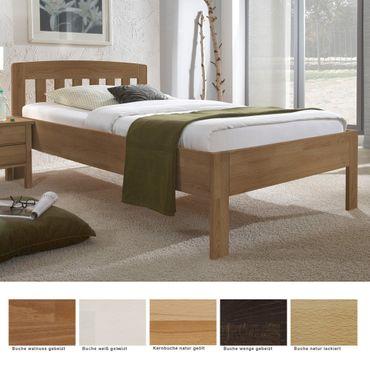 Seniorenbett Renens Comfort Buche Holzbett Farbe und Größe nach Wahl