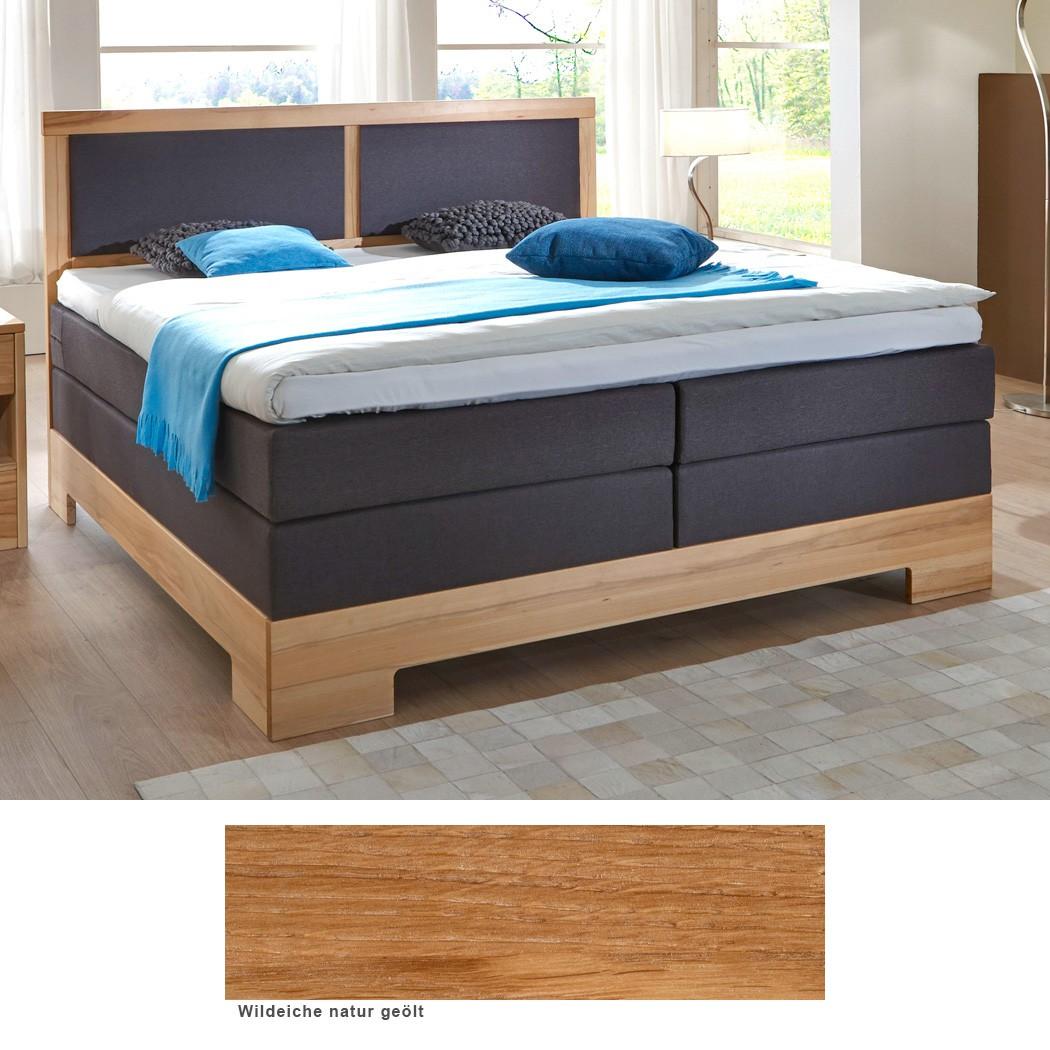 massivholz boxspringbett brest premium eiche farbe und gr e nach wahl wohnbereiche schlafzimmer. Black Bedroom Furniture Sets. Home Design Ideas