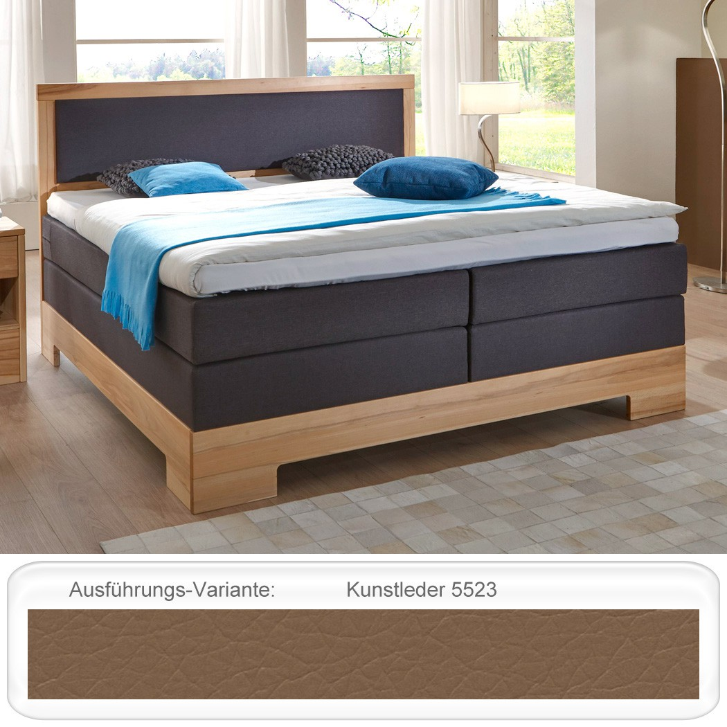 schlafzimmer dijon premium kernbuche massiv boxspringbett kommode nako wohnbereiche schlafzimmer. Black Bedroom Furniture Sets. Home Design Ideas