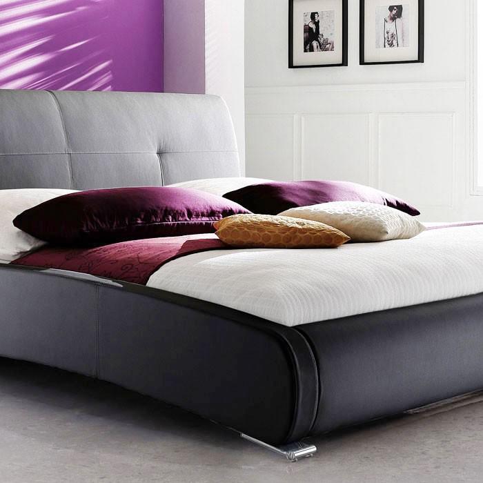 polsterbett amadeo 180x200 schwarz 2x nako goar rost matratze wohnbereiche schlafzimmer. Black Bedroom Furniture Sets. Home Design Ideas