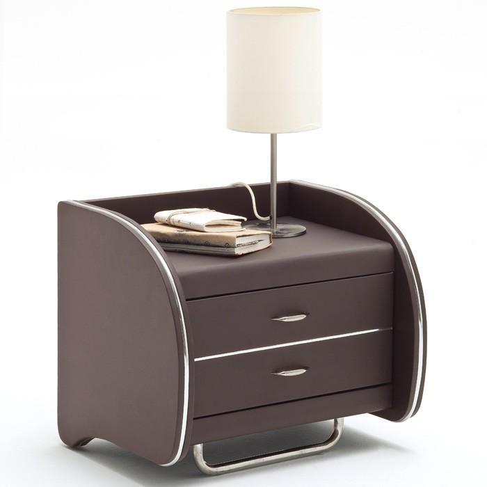 polsterbett malin 180x200 braun 2x nako goar. Black Bedroom Furniture Sets. Home Design Ideas