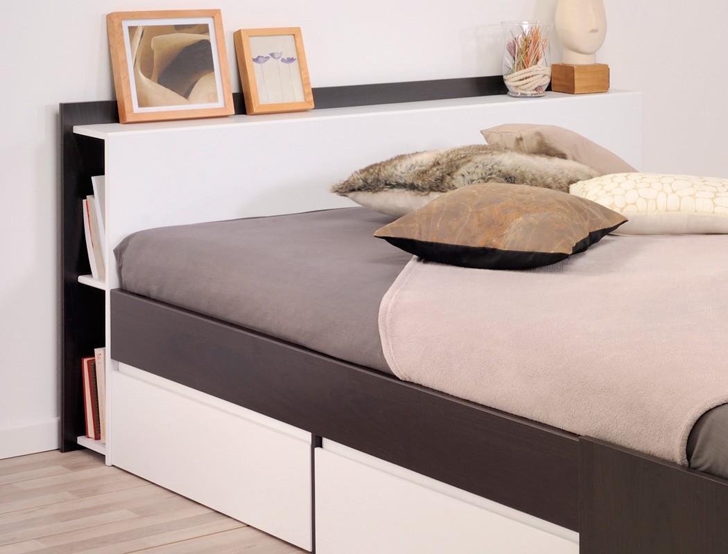 doppelbett morris 4 kaffeefarben 160x200 lattenrost matratze ehebett wohnbereiche schlafzimmer. Black Bedroom Furniture Sets. Home Design Ideas