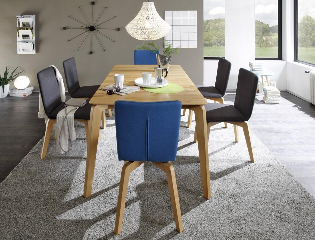 Esstisch Linao A Tisch fest oder ausziehbar Variante Massivholztisch ...