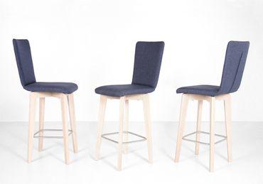 4x Tresenstuhl Manja 3 Sitzhöhe 70cm Varianten Esszimmerstühle