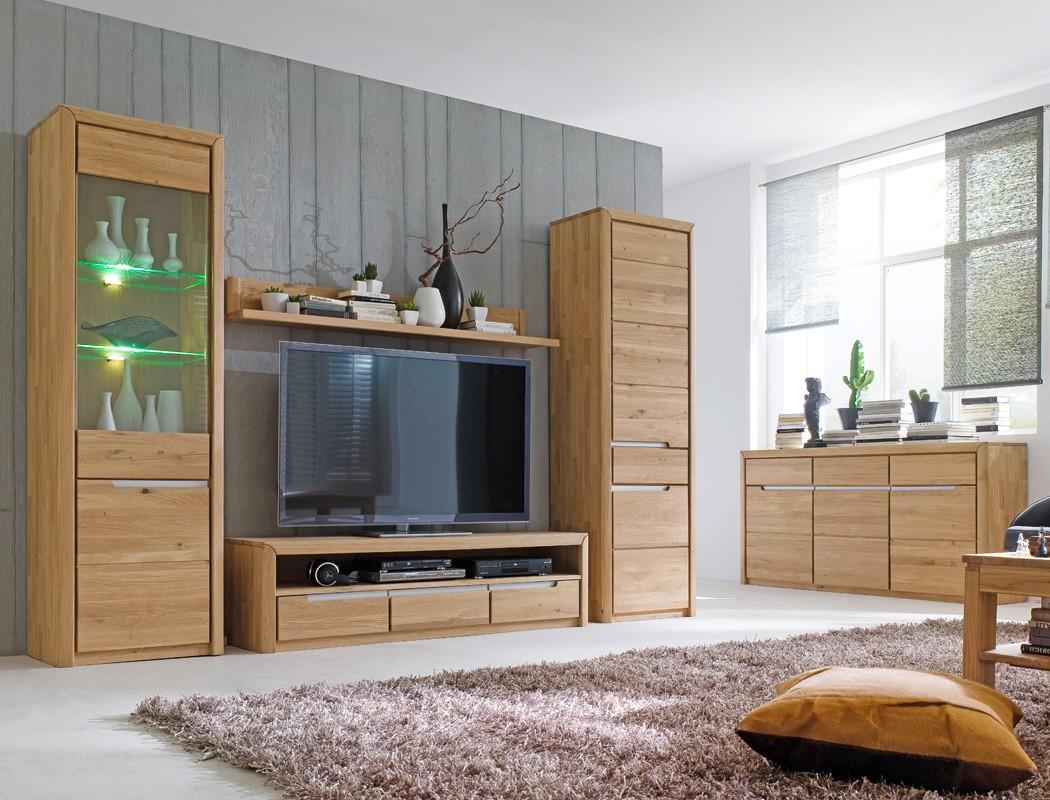 lowboard pisa 8 eiche bianco massiv 165x43x46 cm tv mobel tv schrank wohnzimmer
