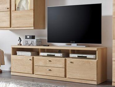TV-Lowboard Lanciano 170x56x42 Wildeiche teilmassiv Schrank TV-Board