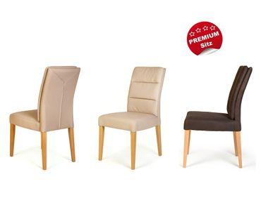 6x Stuhl Flavia 3 Premiumsitz Rückenkissen Polsterstuhl Esszimmerstuhl