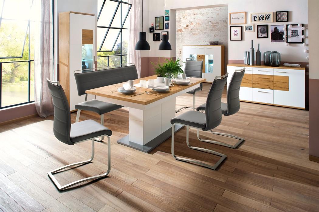 2x schwingstuhl perry varianten freischwinger polsterstuhl esszimmer wohnbereiche esszimmer. Black Bedroom Furniture Sets. Home Design Ideas