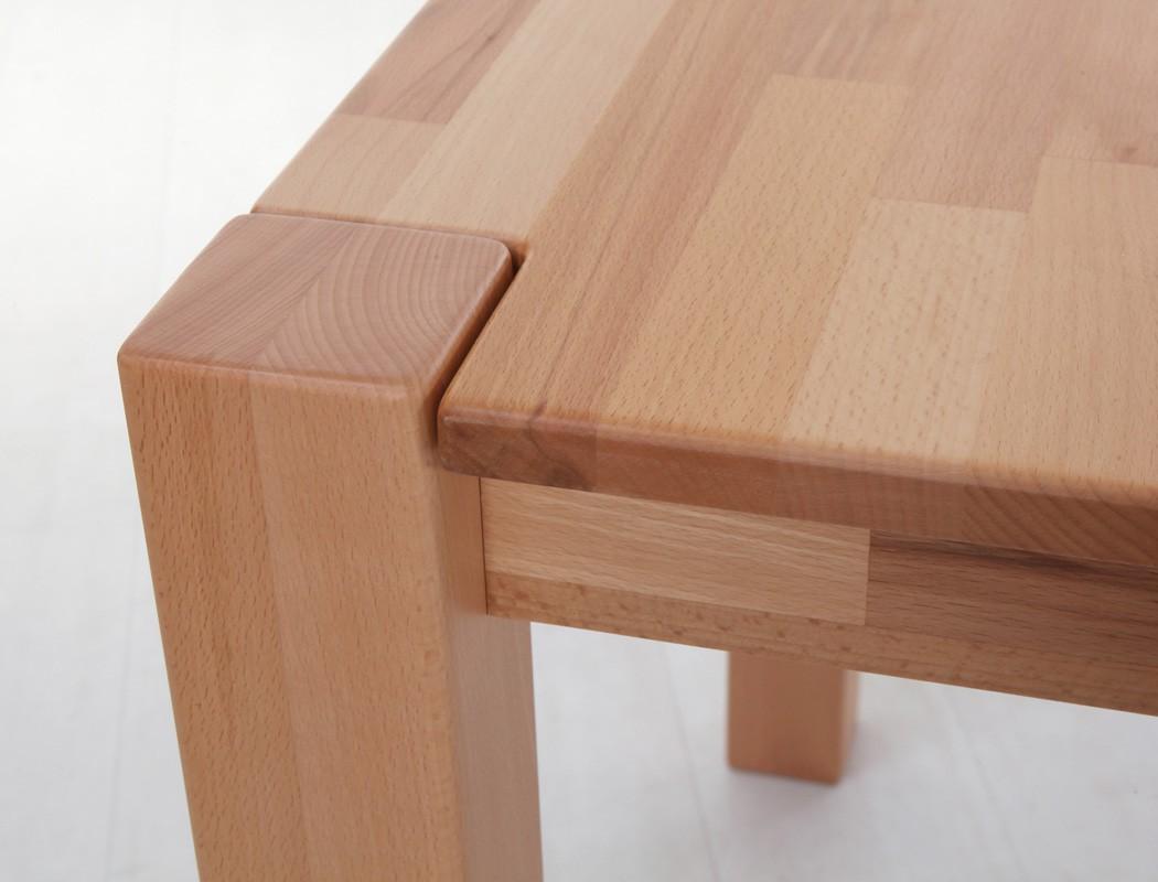 Hochwertiger Esstisch 140x80 Ausziehbar Massivholz Tisch Holztisch Georg  2XL | EBay