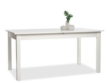 Esstisch Cottbus weiß 160(200)x90 cm Speisetisch Küchentisch Tisch