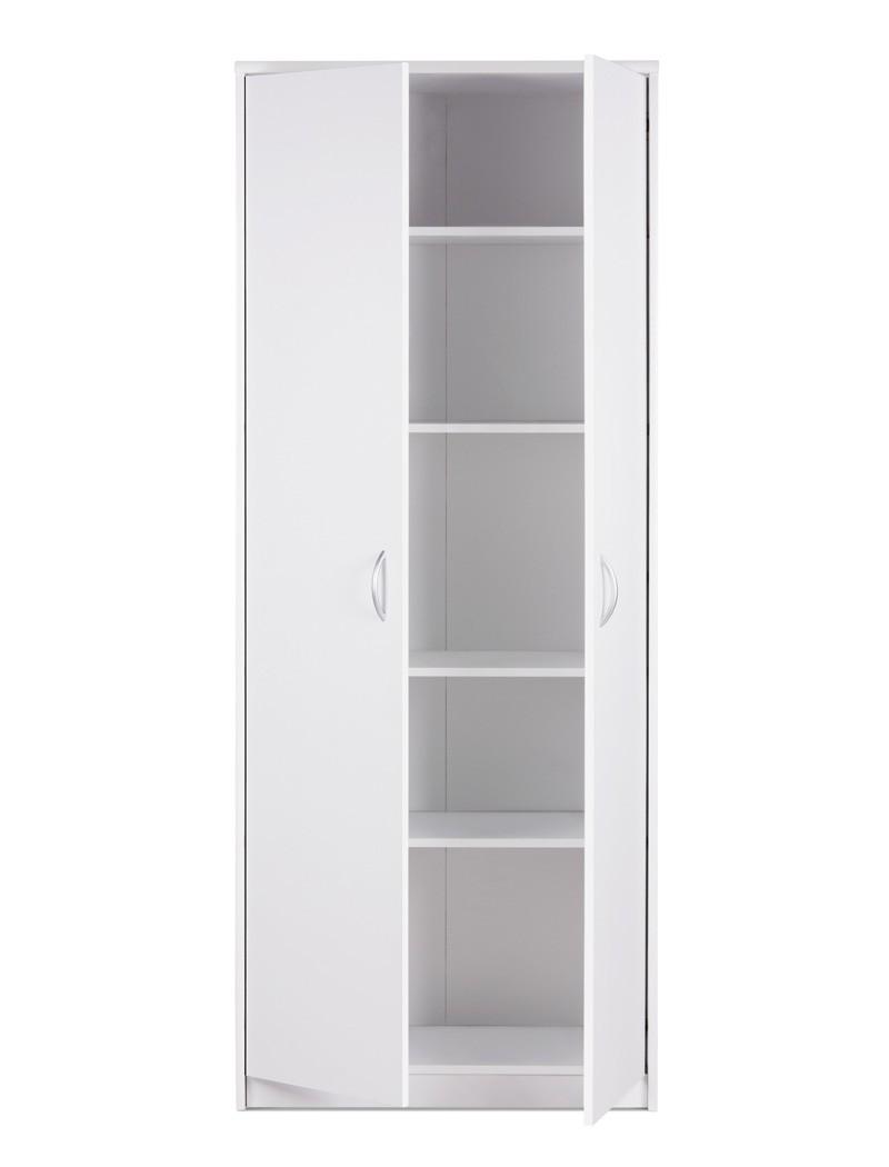mehrzweckschrank koblenz 13 wei 74x188x35cm vorratsschrank schrank wohnbereiche k che. Black Bedroom Furniture Sets. Home Design Ideas