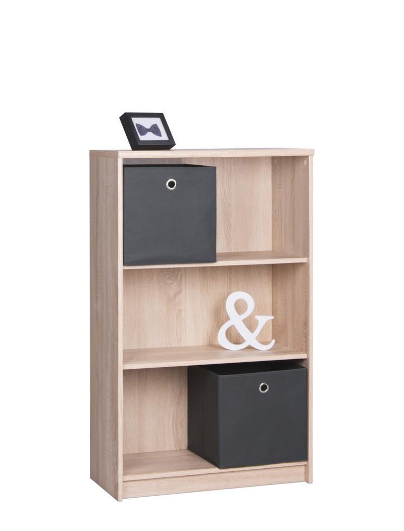 b cherregal koblenz 22 eiche sonoma 68x112x35 cm standregal regal wohnbereiche wohnzimmer regale. Black Bedroom Furniture Sets. Home Design Ideas
