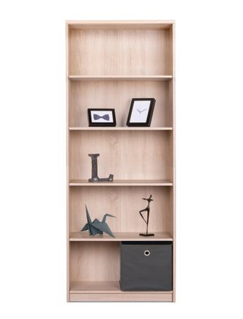 Bücherregal Koblenz 23 Eiche Sonoma 68x188x35 cm Standregal Regal