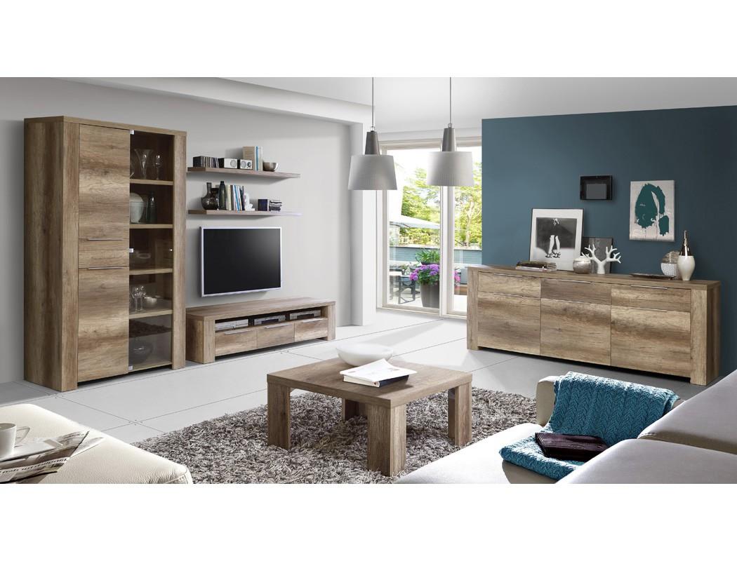 sideboard calvin 8 eiche antik 219x83x50cm anrichte schrank wohnzimmer wohnbereiche esszimmer. Black Bedroom Furniture Sets. Home Design Ideas